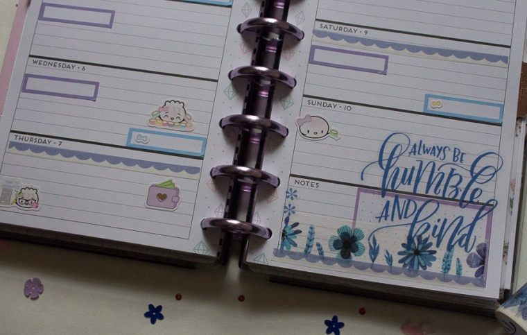 Mini Happy Planner Weekly Spread   Created by Jen Blog