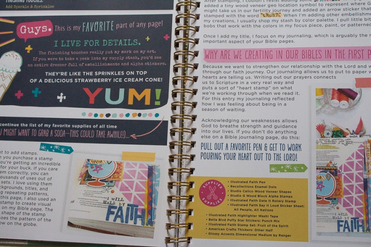 Bible Journaling Journey | Created by Jen Blog