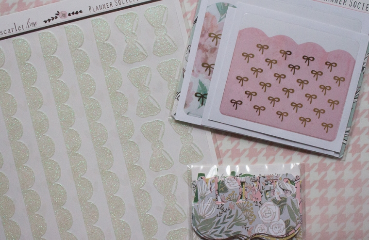 The Planner Society January 2019 Box | Created by Jen Blog