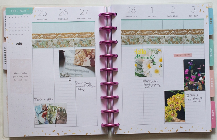 New Memory Planner Spreads | Happy Planner | Created by Jen Blog