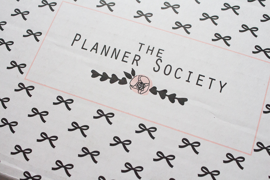 The Planner Society March Box | Created by Jen Blog