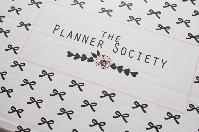 The Planner Society March Box   Created by Jen Blog