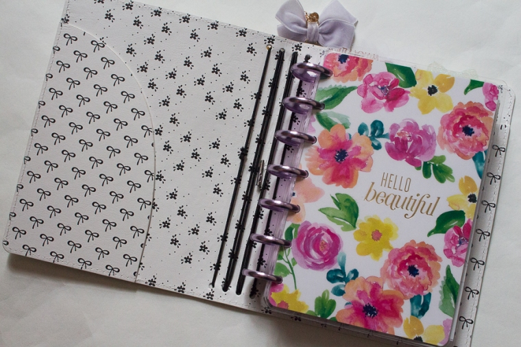Mini Happy Planner | Spring | Created by Jen Blog