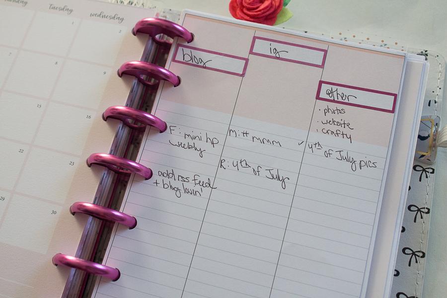 Mini Happy Planner: My New Setup!