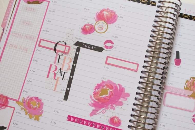 My Birthday Week! | Recollections Weekly Spread