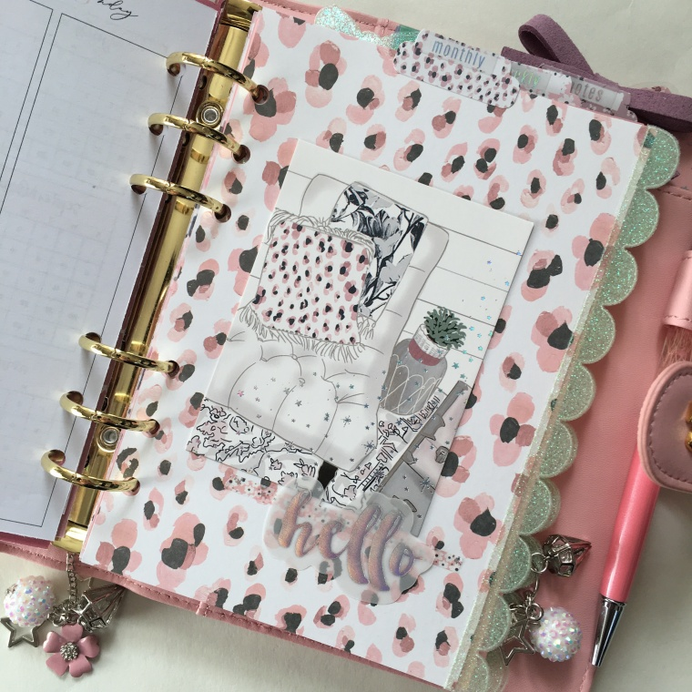 The Pink Room Co. B6 Rings Planner Setup | Created by Jen Blog