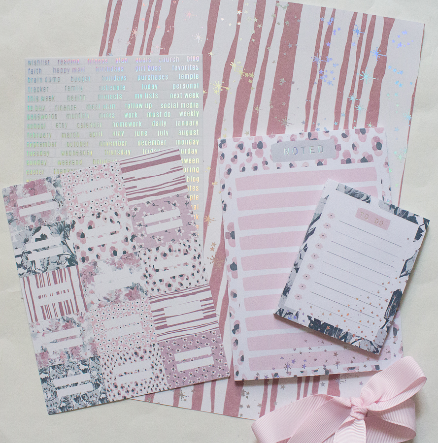 The Planner Society March/April 2020 Box | Created by Jen Blog