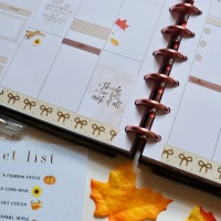 Weekly Planner Spread | Hello Fall!